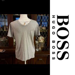 Size S Hugo Boss slim fit gray t-shirt